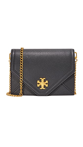 Tory Burch Kira Cross Body Bag - Black