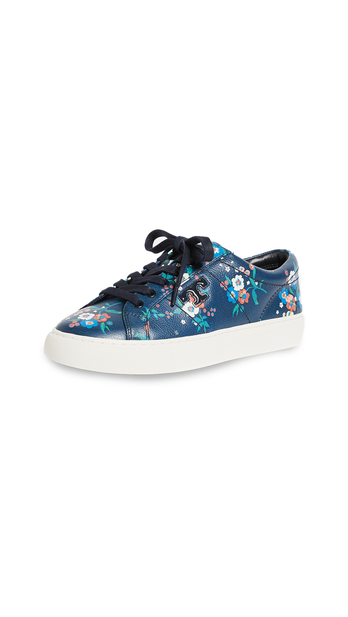 Tory Burch Amalia Sneakers - Pansy Bouquet