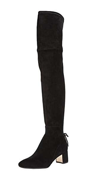 Tory Burch Laila 45Mm Over-the-Knee Boots In Black