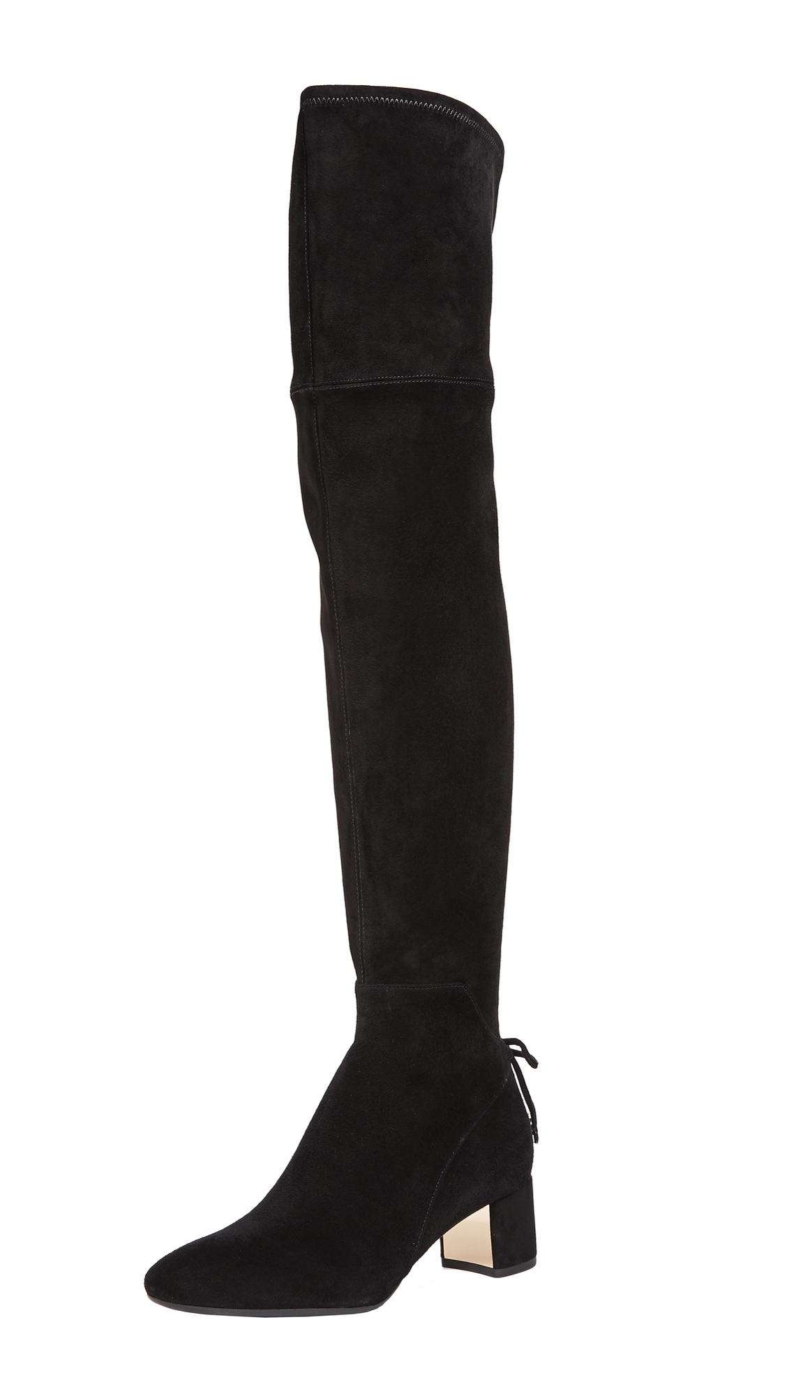 Tory Burch Laila 45Mm Over-the-Knee Boots - Black