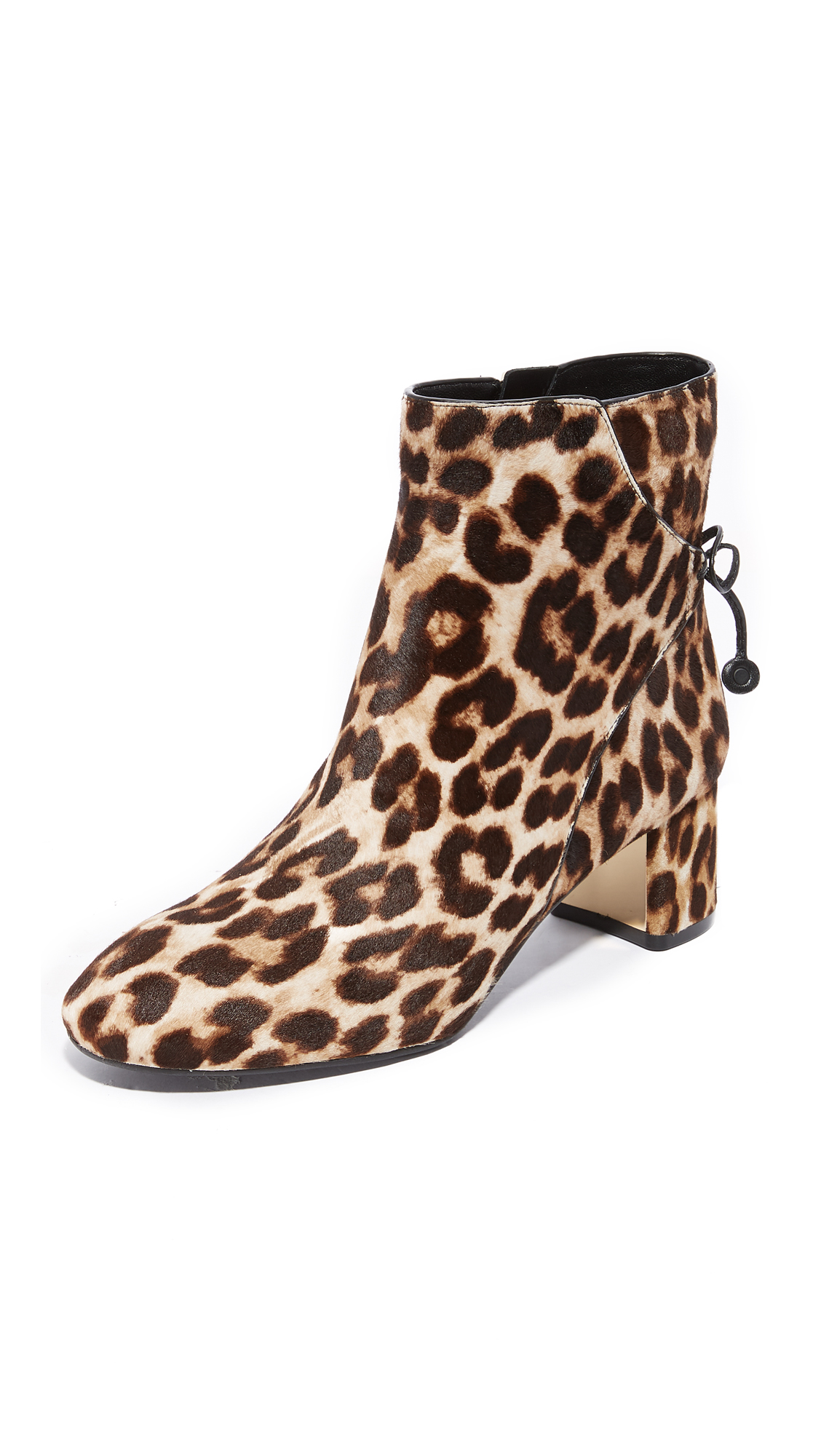 Tory Burch Laila 50mm Booties - Leopard