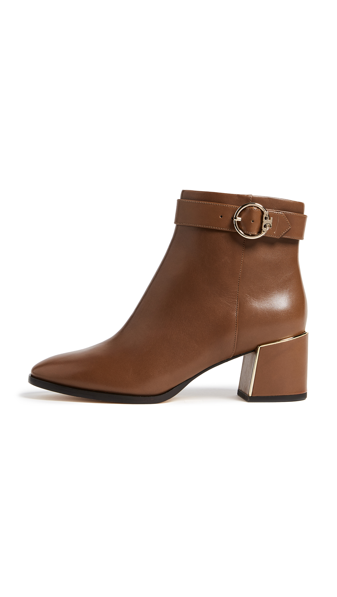 Tory Burch Sofia 60mm Dress Booties - Festival Brown