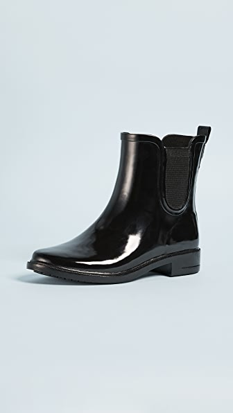 Tory Burch Stormy Rain Booties - Black