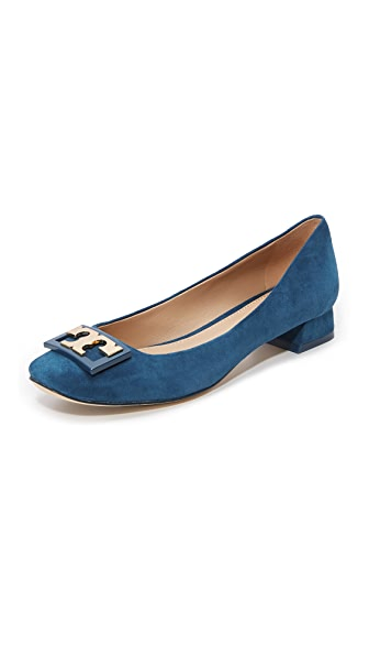 Tory Burch Gigi Suede Pumps - Symphony Blue