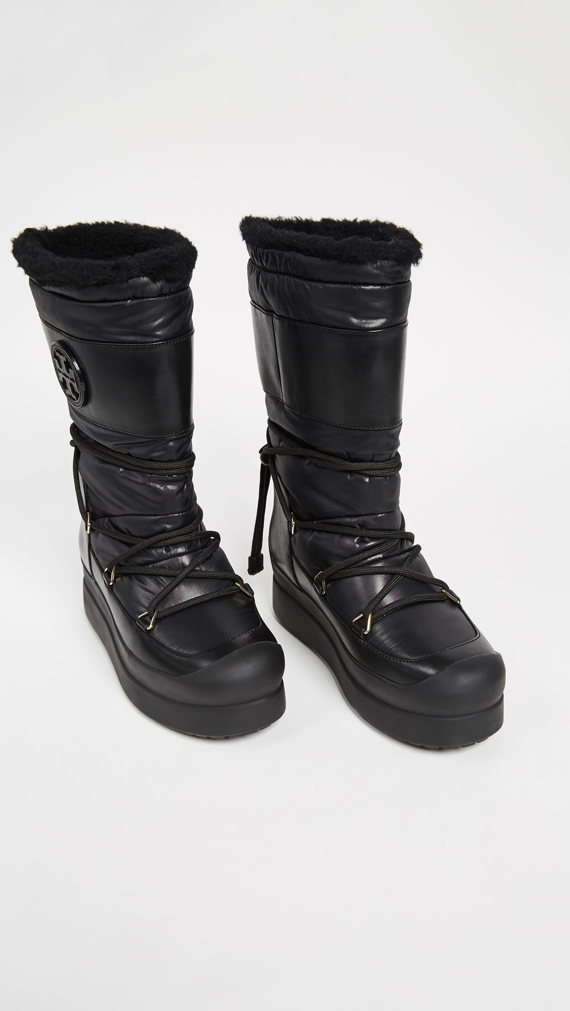 c13cf4ba062e Tory Burch Cliff Snow Boots