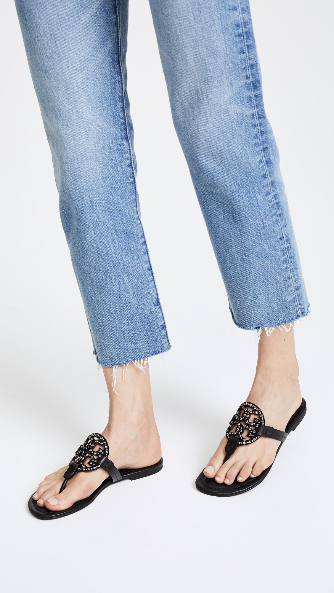 85100bfdaf1eb Tory Burch Miller Embellished Sandals