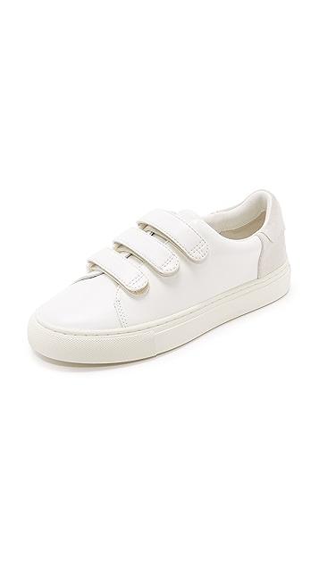 Tory Burch Tory Sport Colorblock Velcro Sneakers