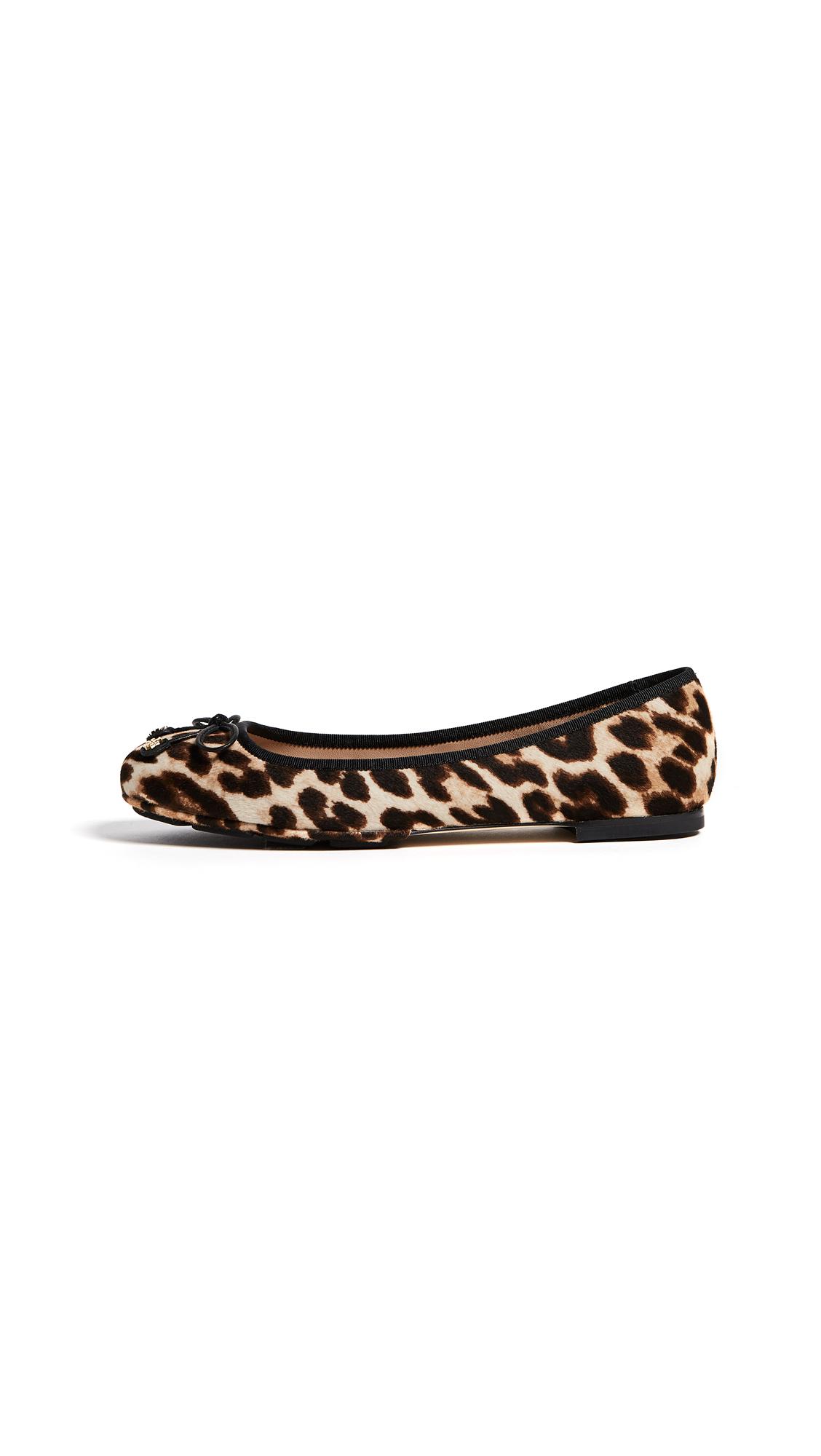 Tory Burch Laila Driver Ballet Flats - Leopard
