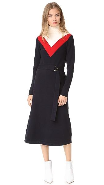 Tory Burch Vivien Dress - Med Navy