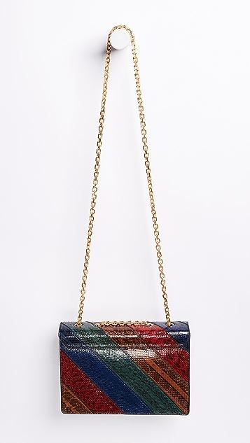 Tory Burch Gemini Link Chain Snake Shoulder Bag