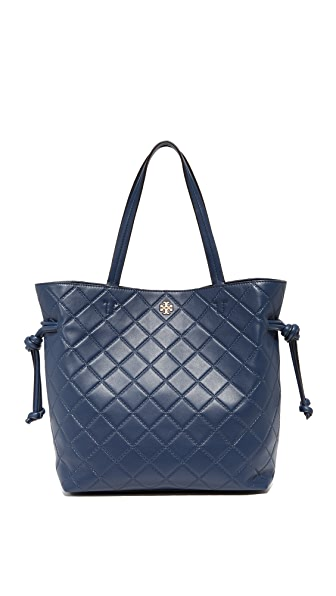 Tory Burch Georgia Tote In Royal Navy