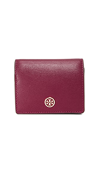 Tory Burch Parker Mini Wallet - Imperial Garnet