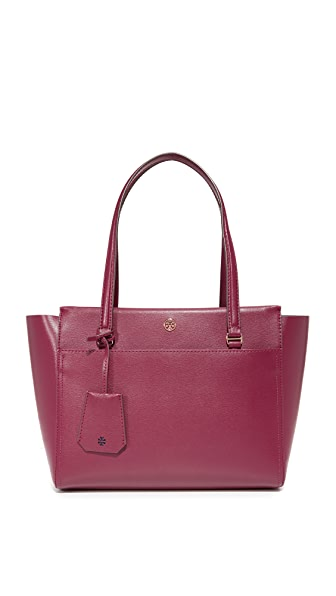 Tory Burch Parker Small Tote - Imperial Garnet