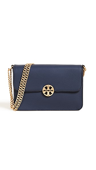 e32296be79b Tory Burch Chelsea Mini Cross Body Bag In Royal Navy