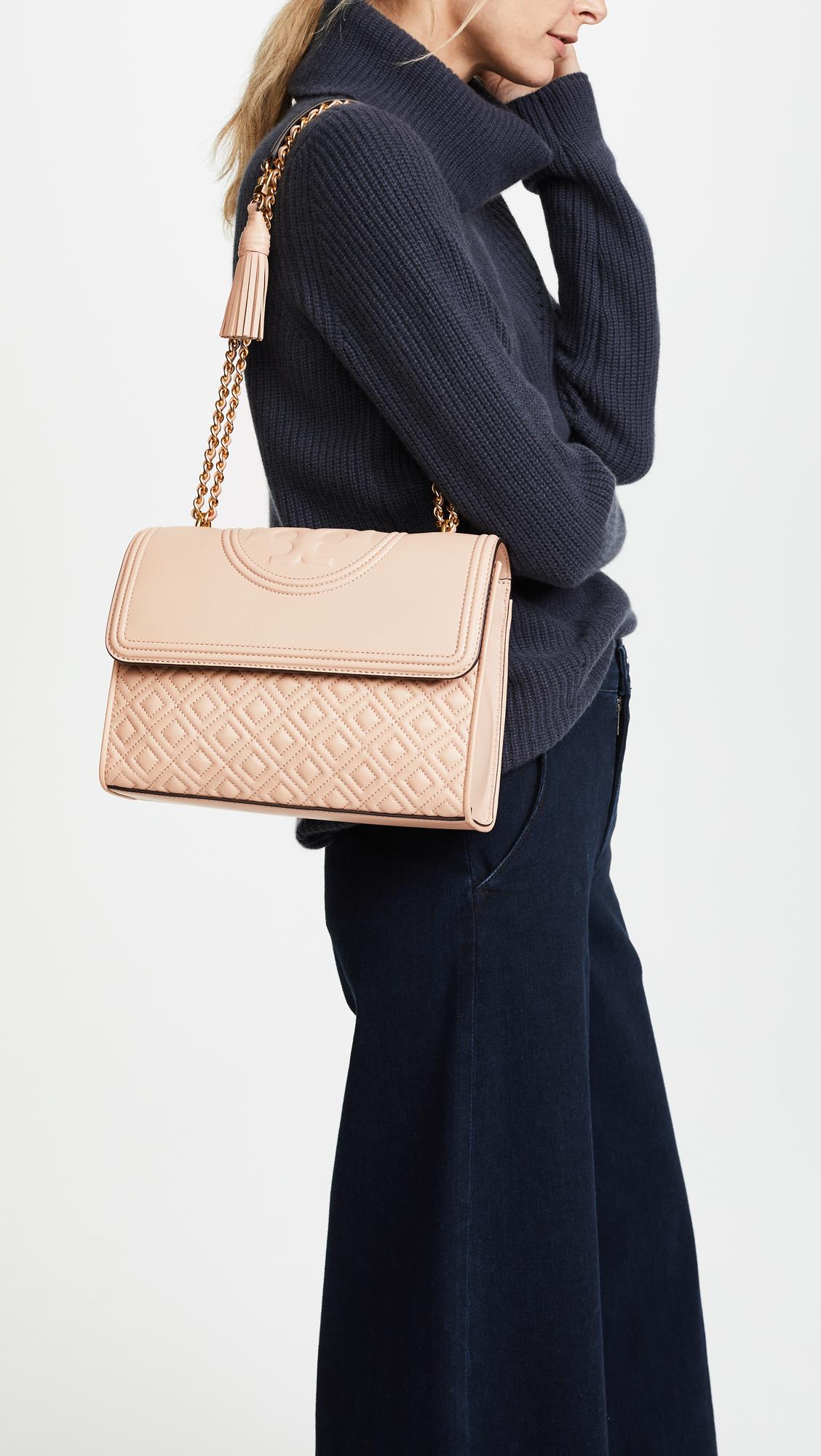 46f036dd3113 Tory Burch Fleming Convertible Shoulder Bag