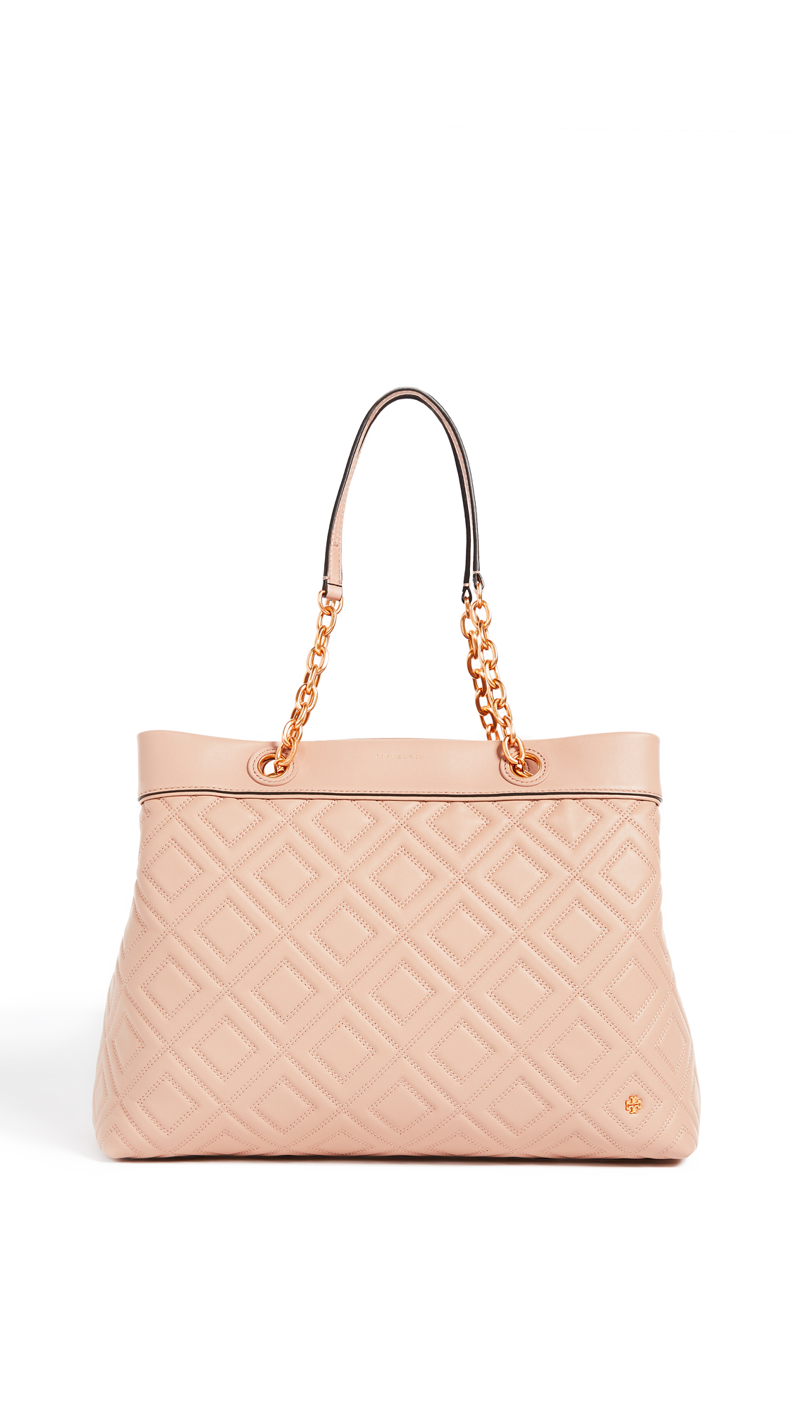 Tory Burch Fleming Triple Compartment Tote - New Mink