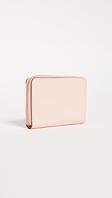 Tory Burch Robinson Patent Zip Coin Case