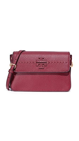 Tory Burch McGraw Cross Body Bag - Imperial Garnet