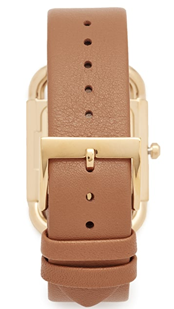Tory Burch The Phipps Leather Watch