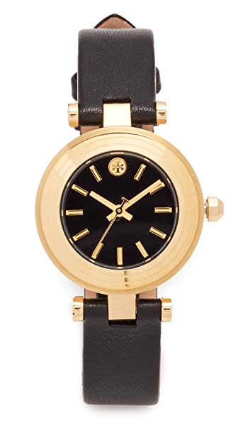 Tory Burch The Classic T Leather Watch