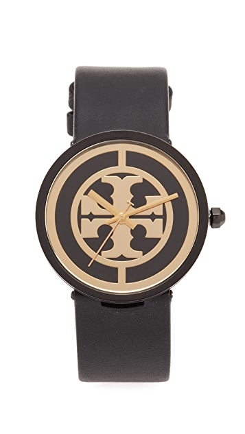 Tory Burch The Reva Leather Watch