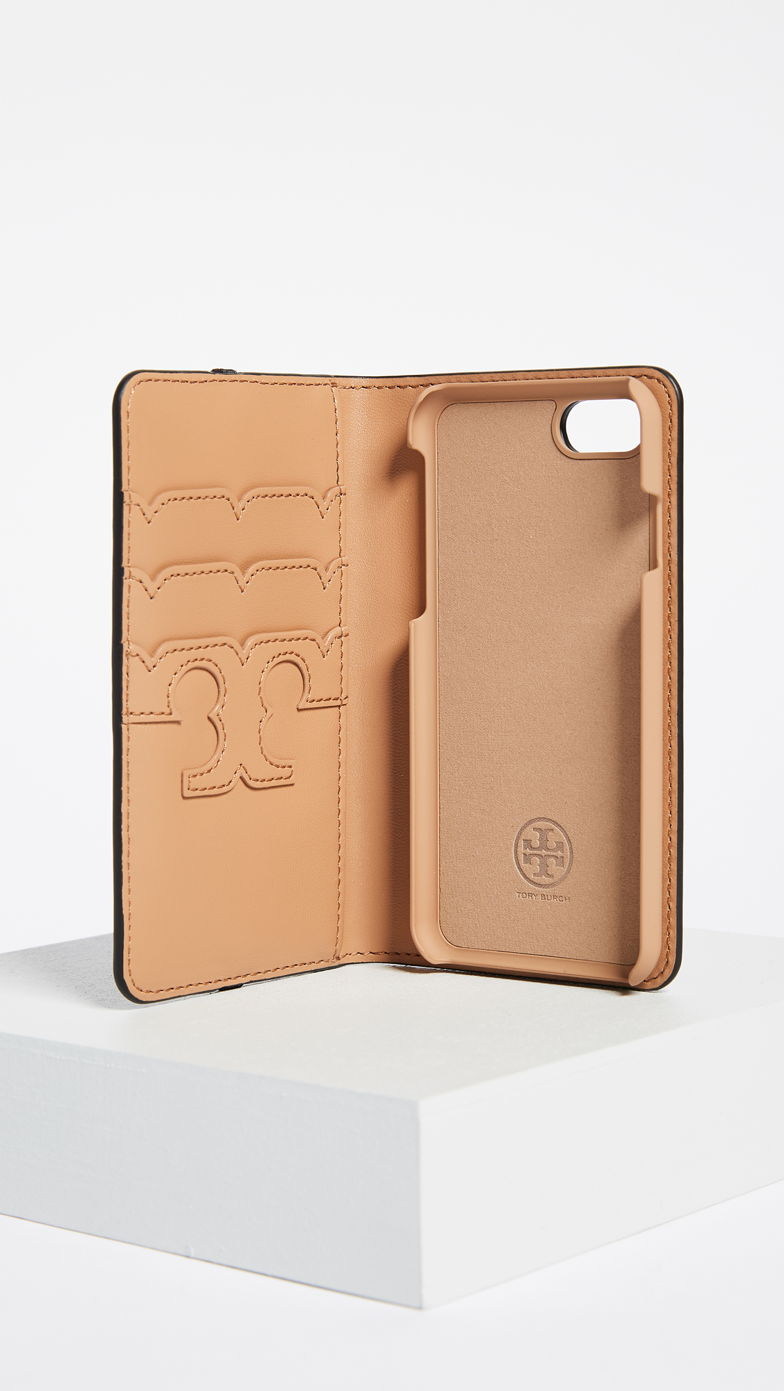 separation shoes 0785b 38edd Tory Burch Parker Leather Folio iPhone 7 / 8 Case | SHOPBOP