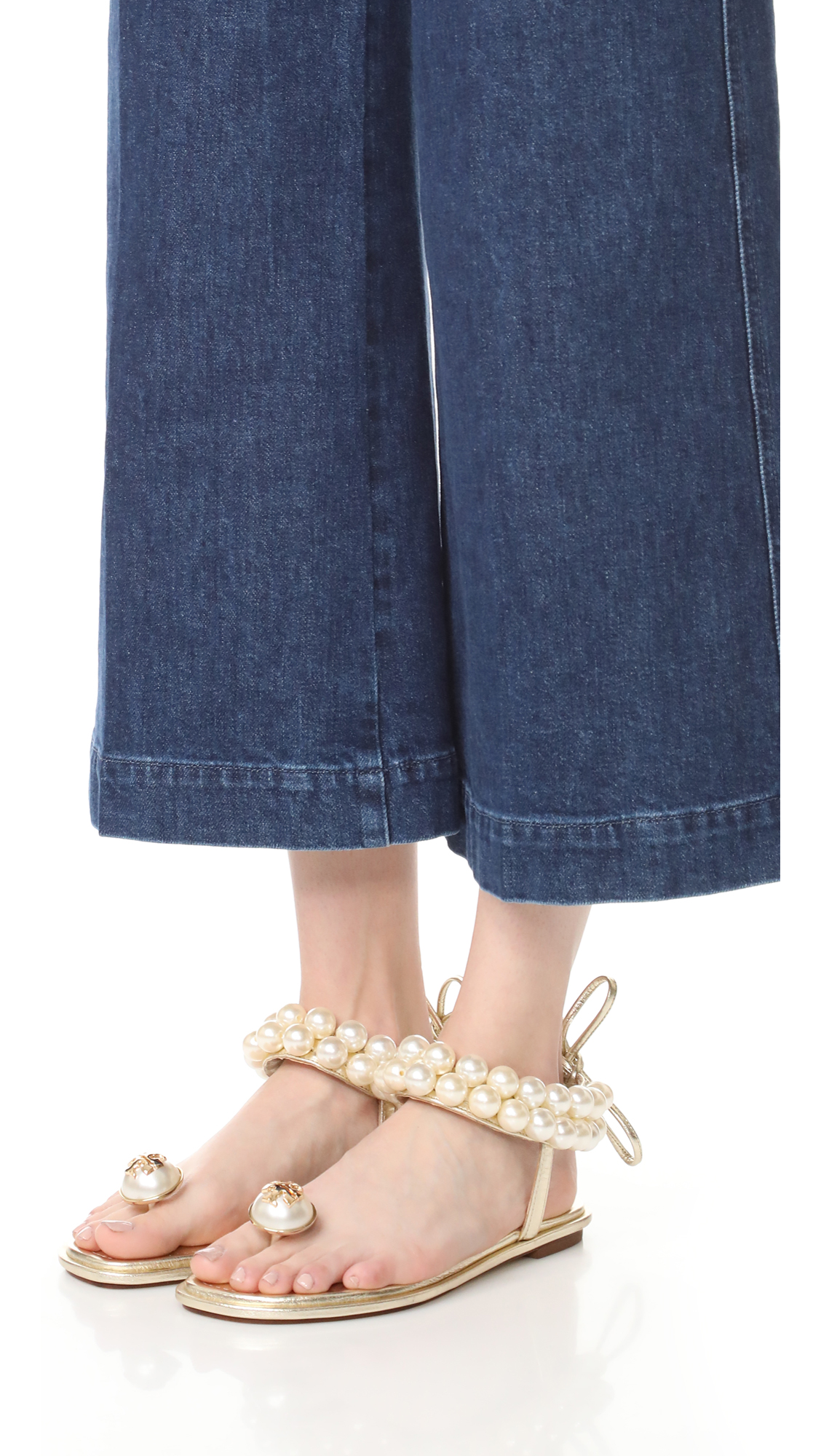 2c0fb2c7d7b Tory Burch Melody Ankle Strap Sandals