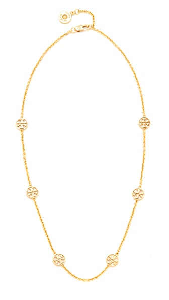 Tory Burch Delicate Logo Necklace