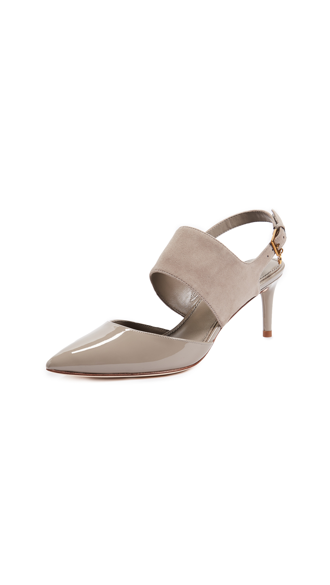 Tory Burch Ashton 65mm Pumps - Dust Storm/Dust Storm