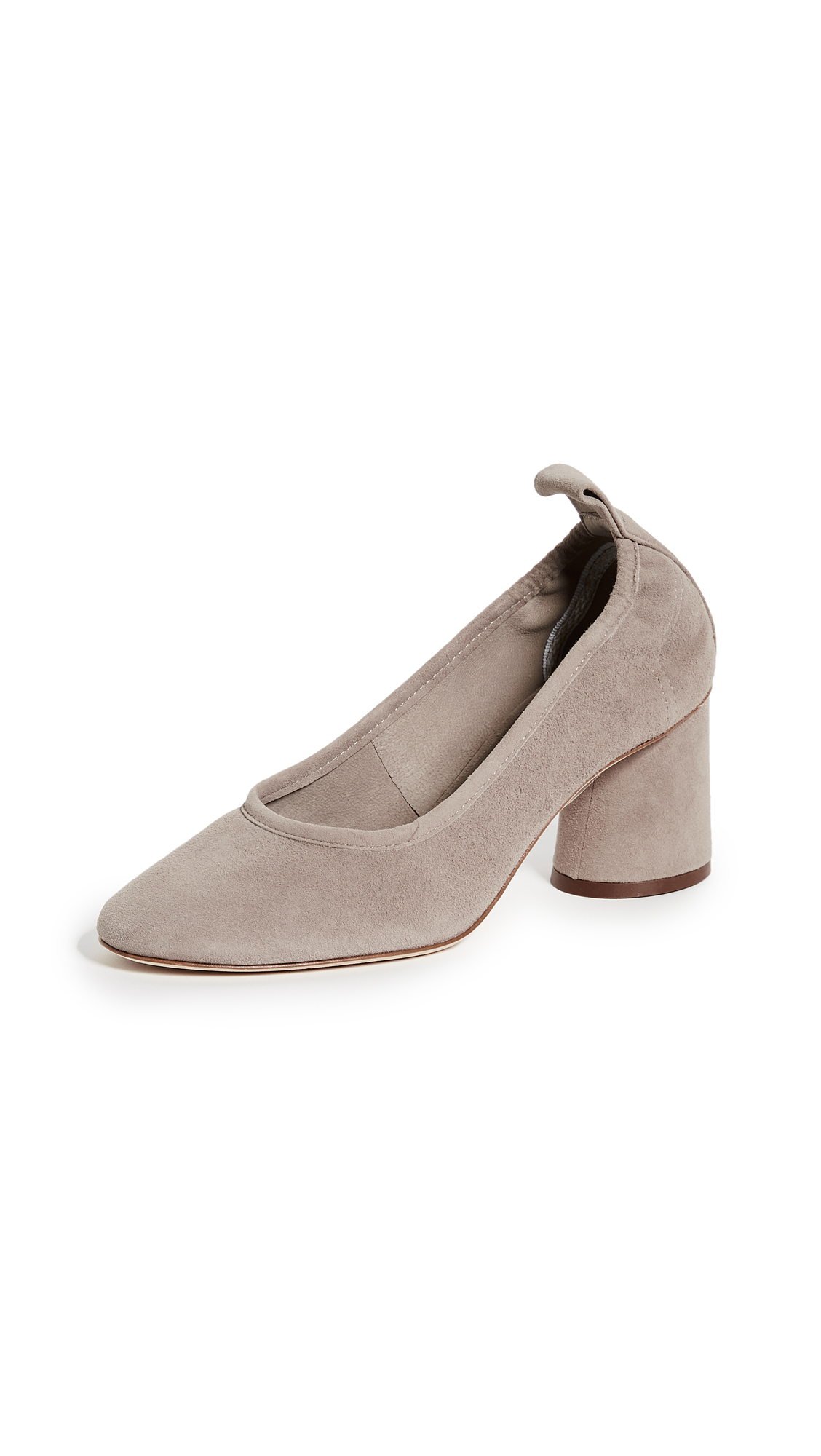 Tory Burch Therese 65mm Suede Pumps - Dust Storm