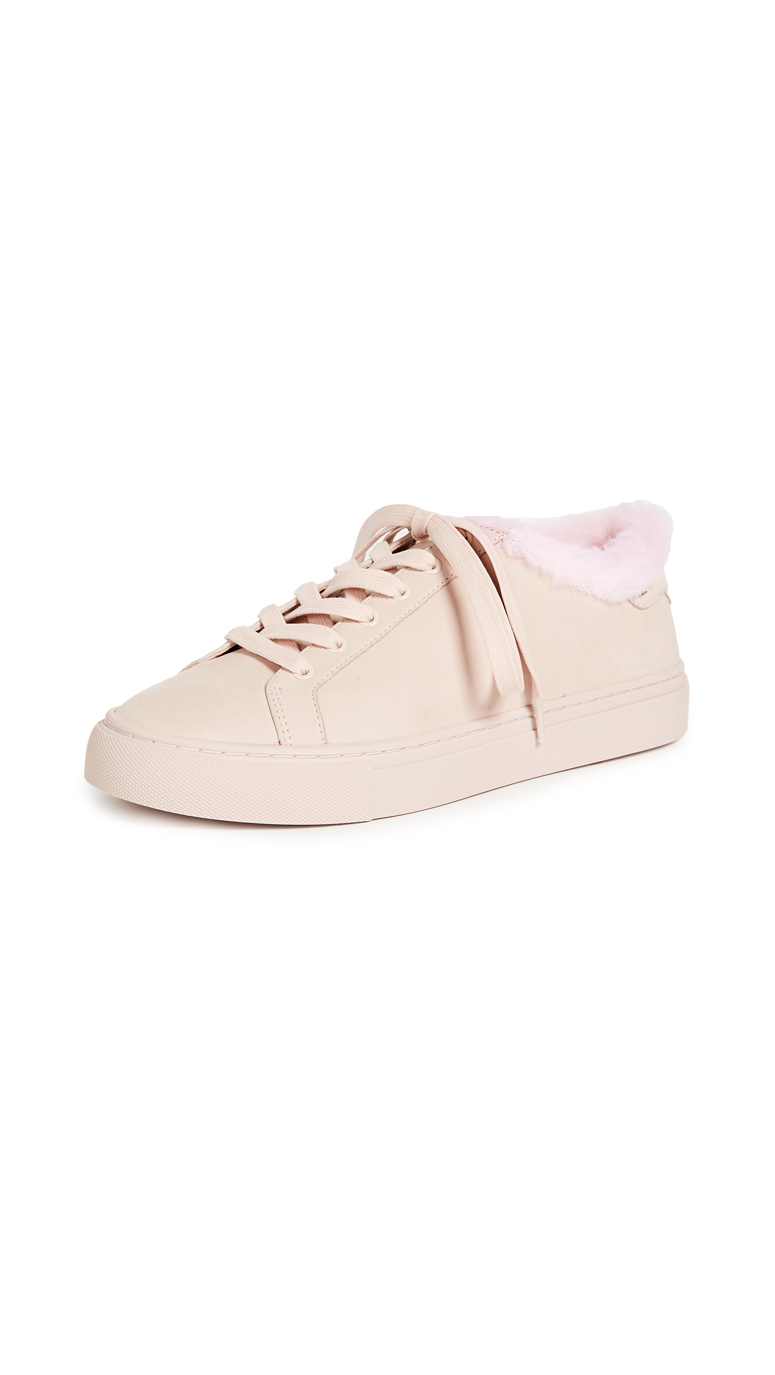 Tory Burch Lawrence Low Top Sneakers - Shell Pink