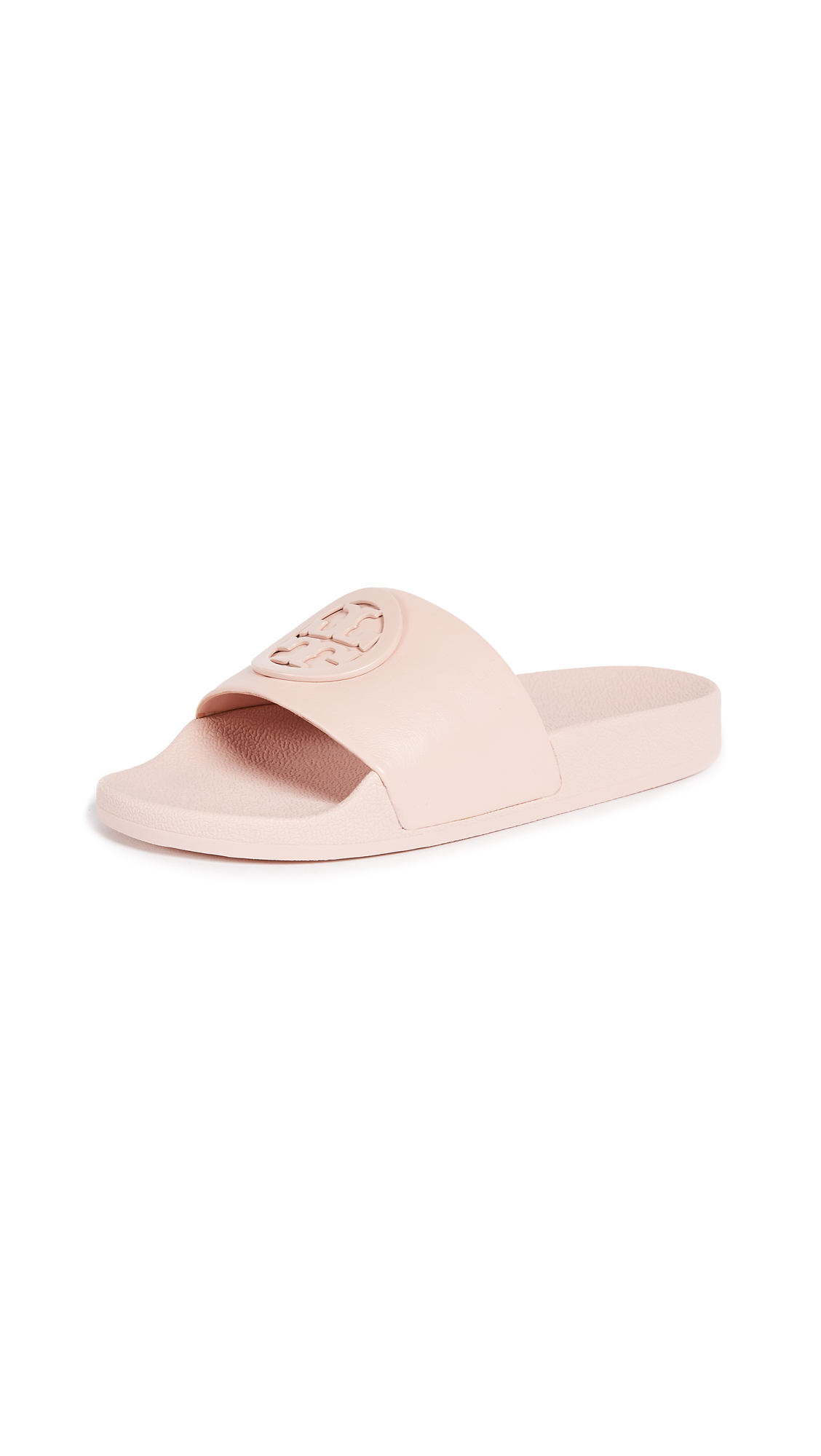 Tory Burch Lina Slides - Shell Pink