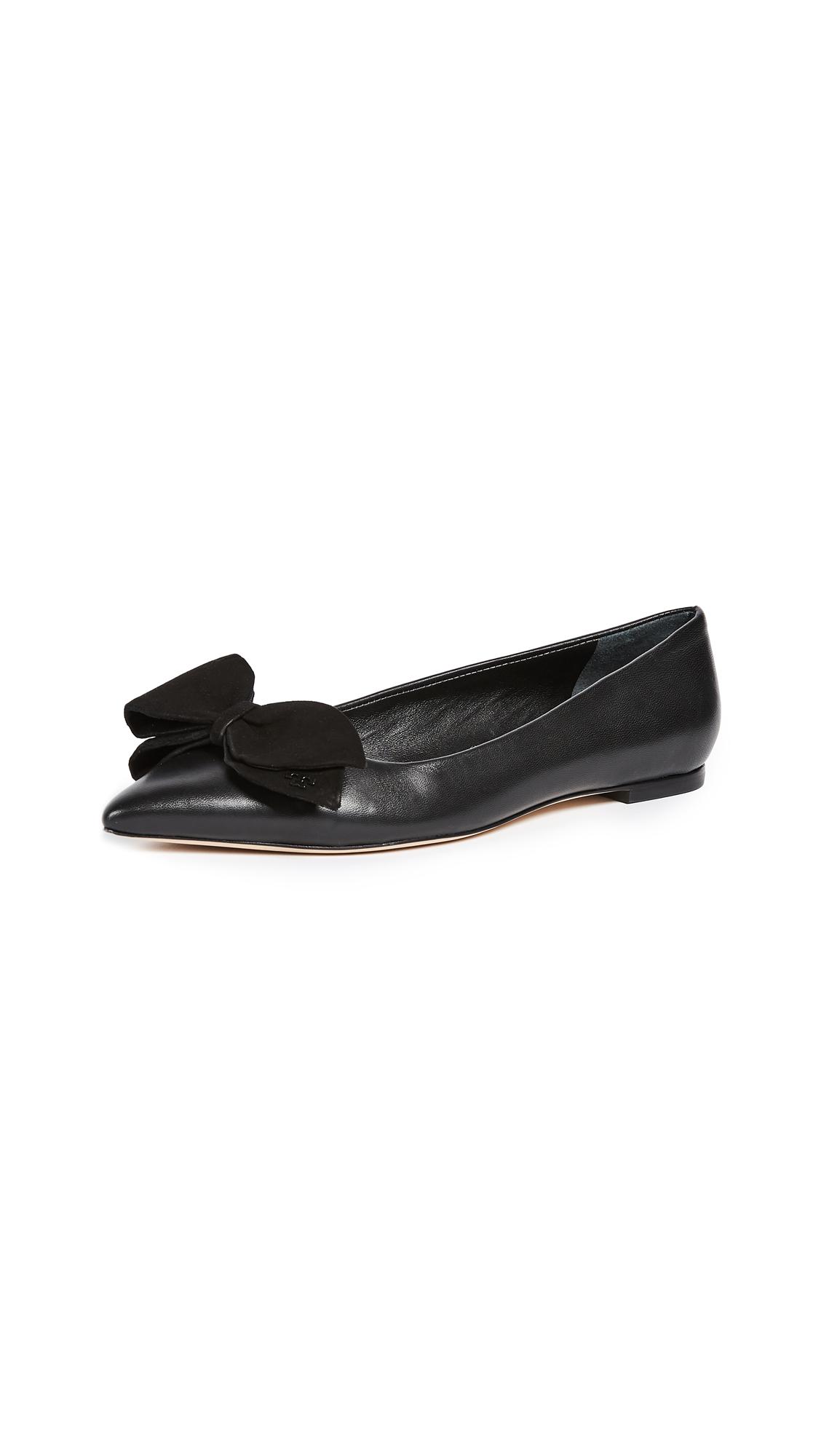 Tory Burch Rosalind Ballet Flats - Black