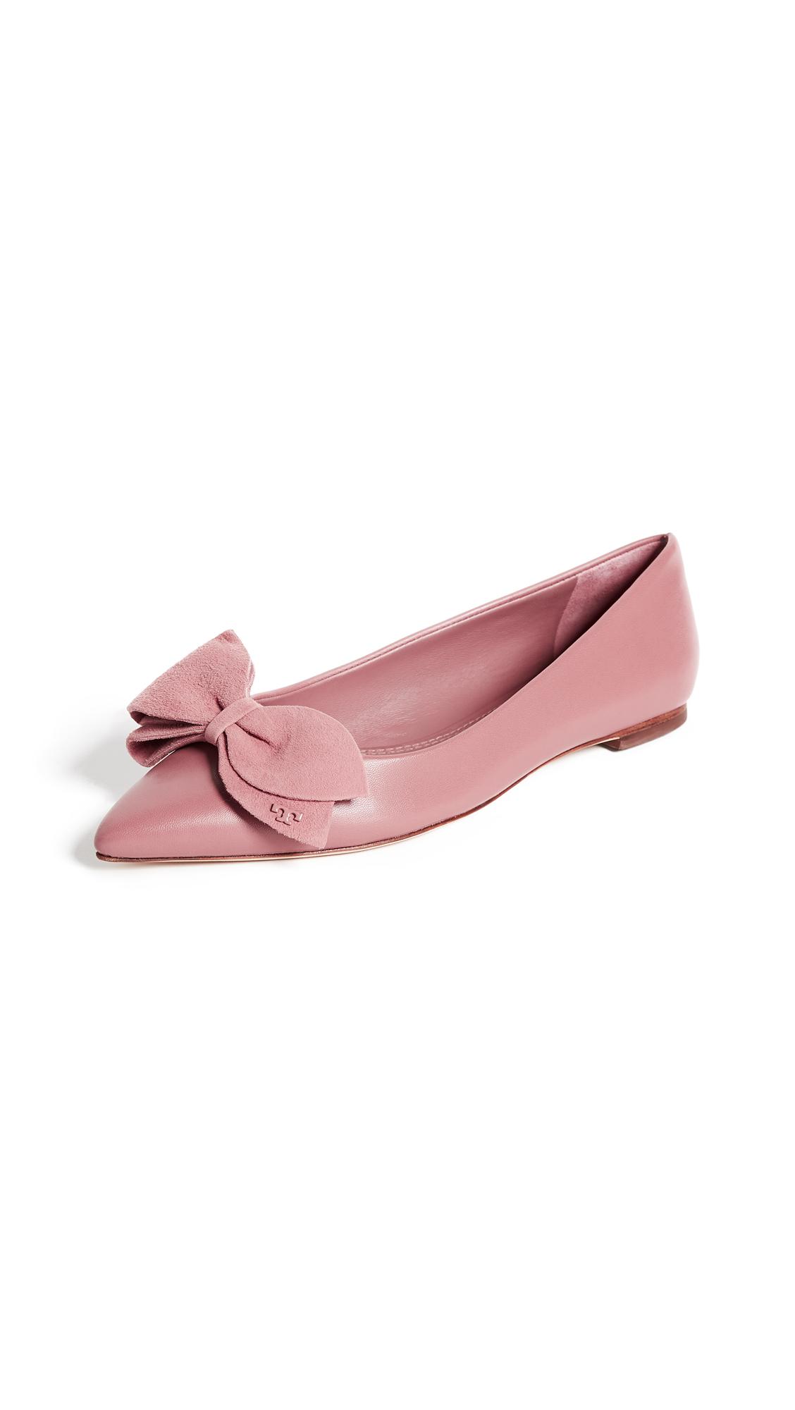Tory Burch Rosalind Ballet Flats - Pink Magnolia