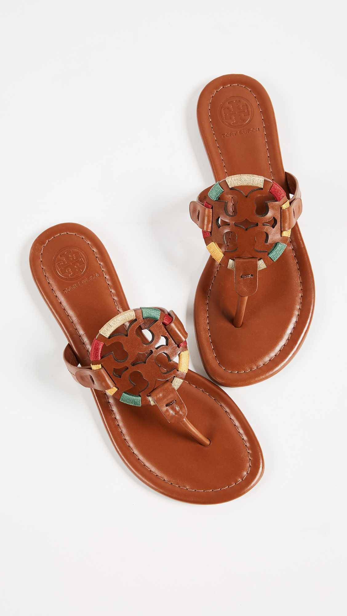 422b0fbf070b Tory Burch Miller Embroidered Sandals