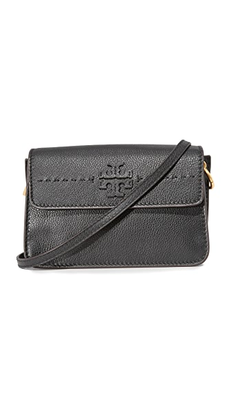 Tory Burch McGraw Cross Body Bag - Black