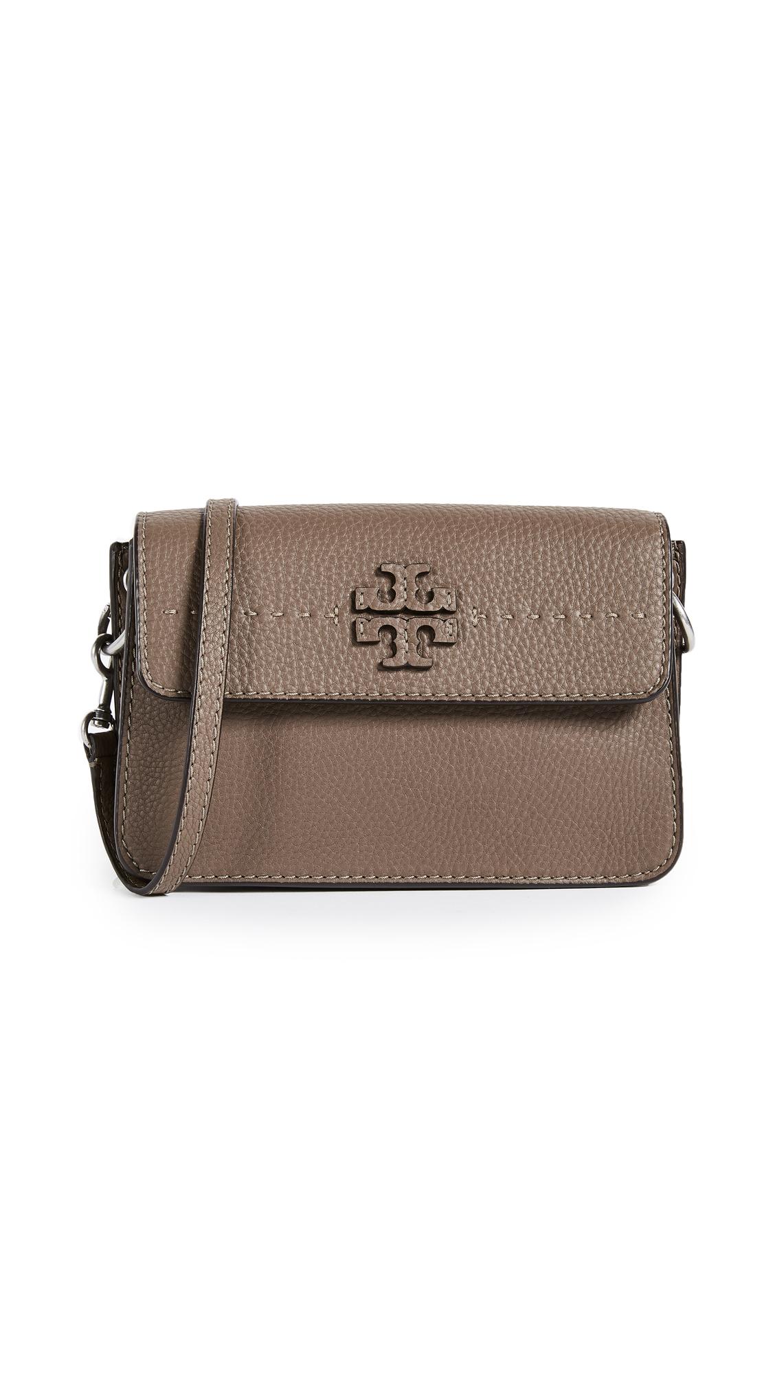 Tory Burch McGraw Cross Body Bag - Silver Maple