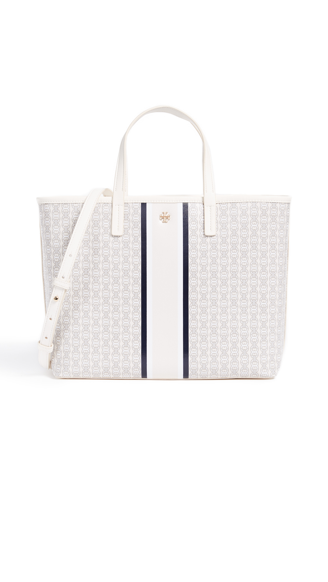 Tory Burch Gemini Link Small Tote - New Ivory