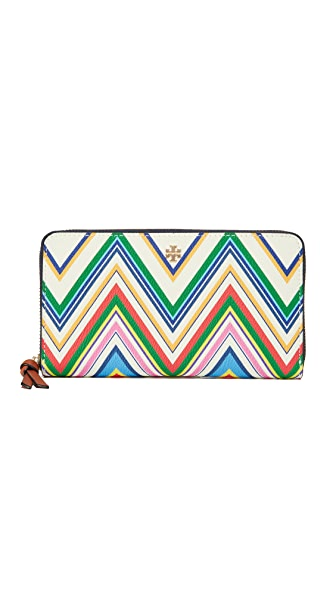 Tory Burch Kerrington Zip Continental Wallet