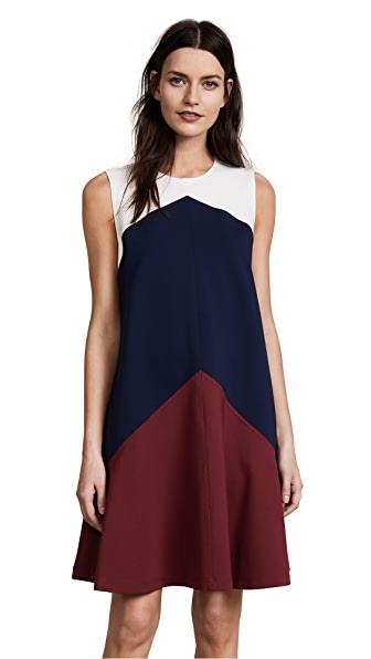 Tory Burch Willa Dress In Cordovan