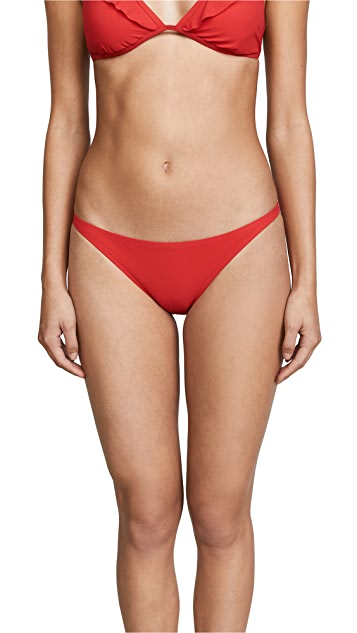 Tory Burch Solid Low Rise Bottoms
