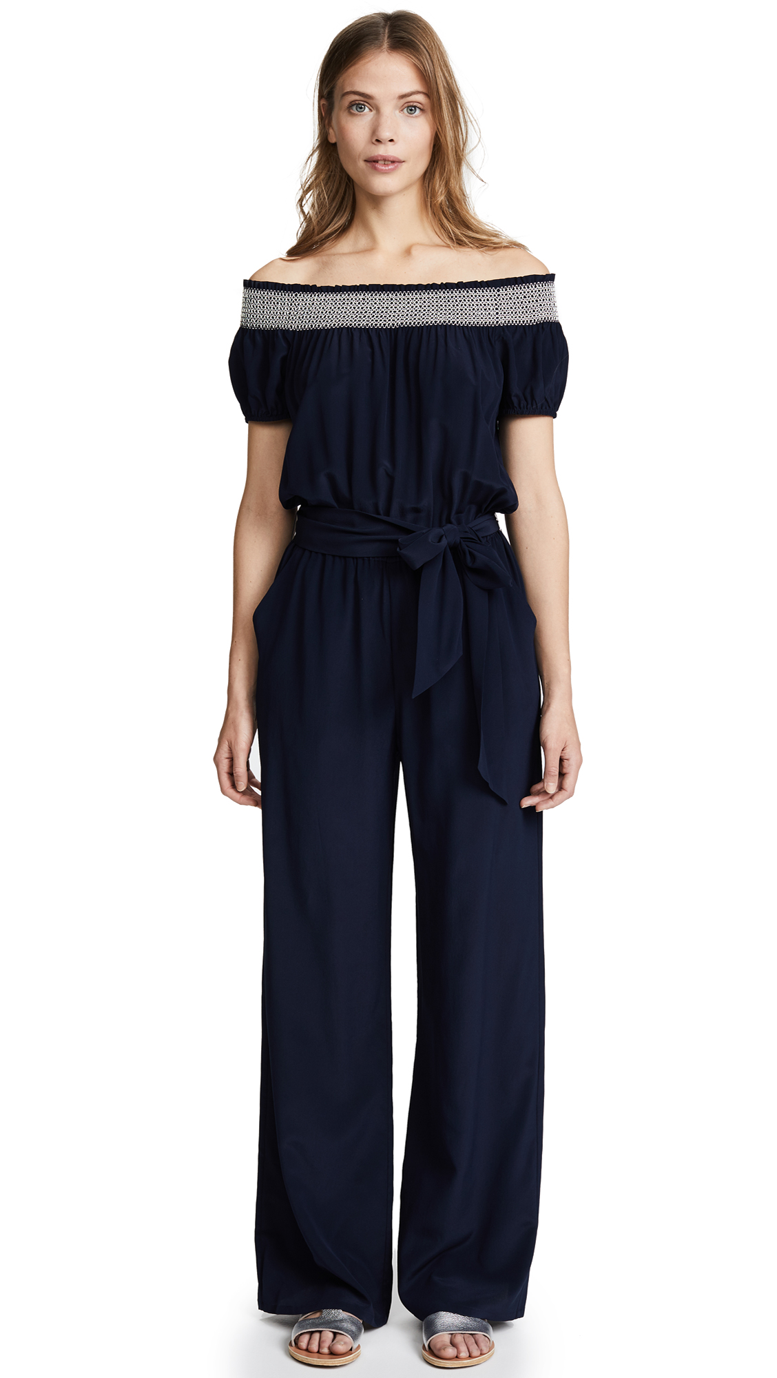 Tory Burch Silk Jumpsuit