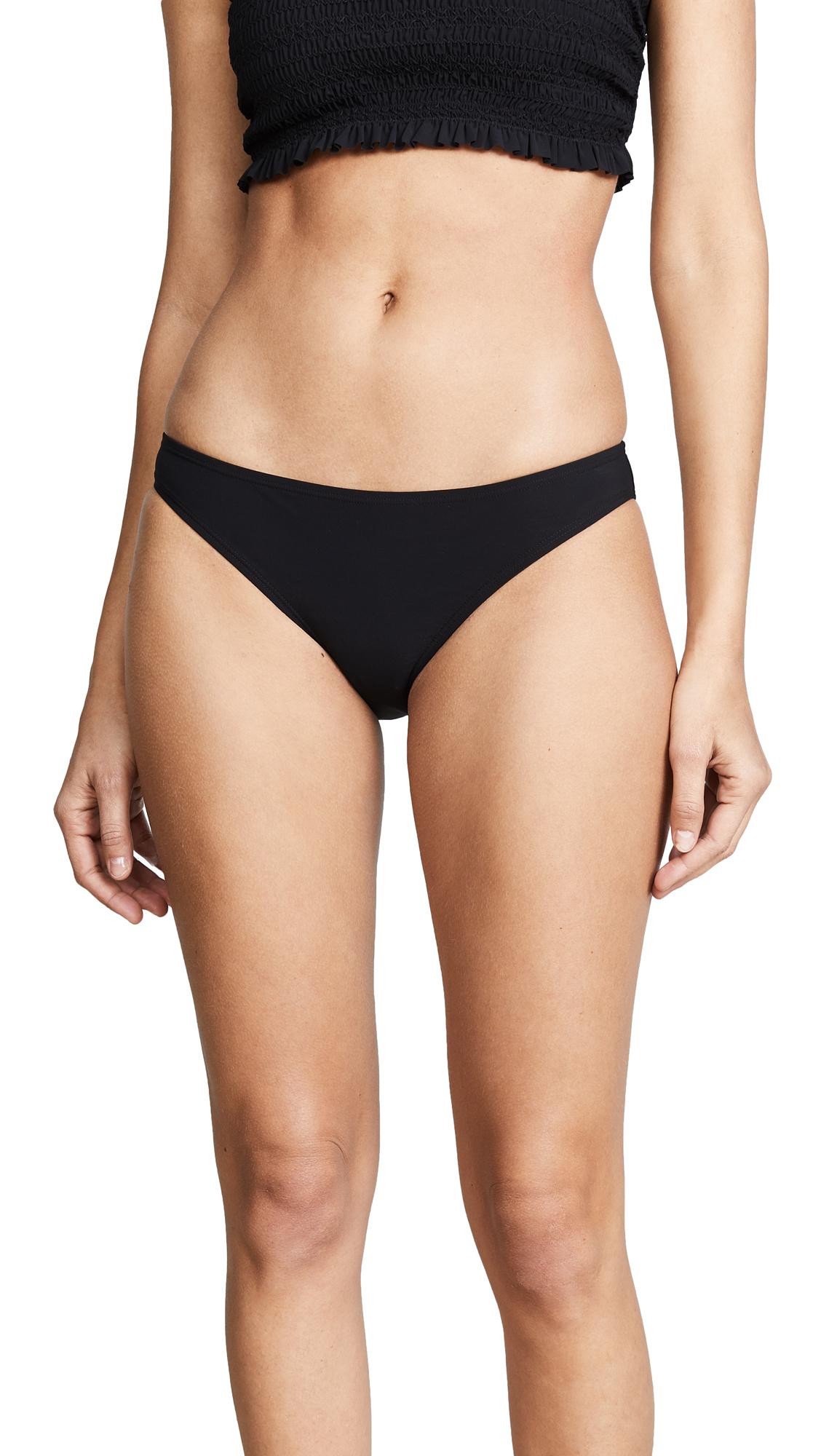 Tory Burch Solid Hipster Bikini Bottoms