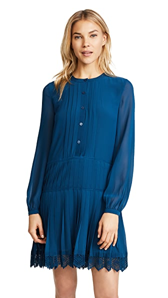Tory Burch Sydney Dress In Symphony Blue