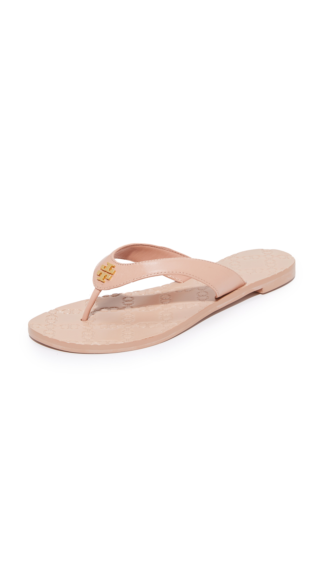 Tory Burch Monroe Thong Sandals - Light Makeup