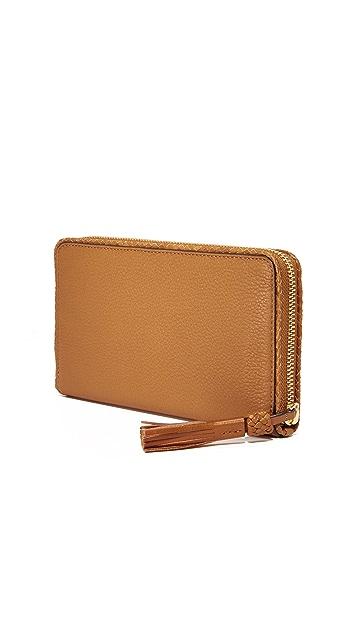 Tory Burch Taylor Zip Continental Wallet