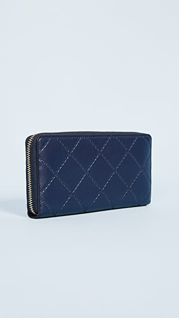 Tory Burch Georgia Zip Continental Wallet