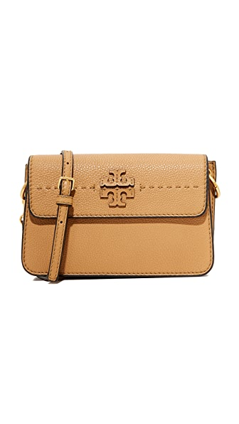 Tory Burch McGraw Cross Body Bag - Baguette