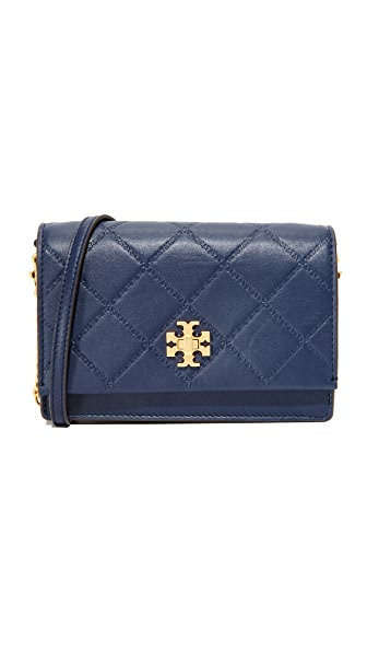 Tory Burch Georgia Turn Lock Mini Bag - Royal Navy