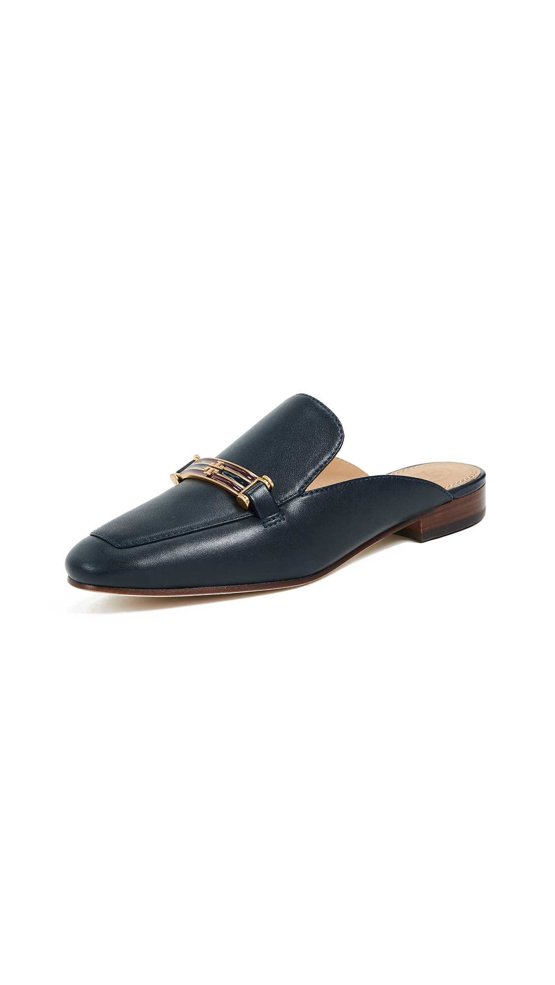 Tory Burch Amelia Backless Loafers - Perfect Navy